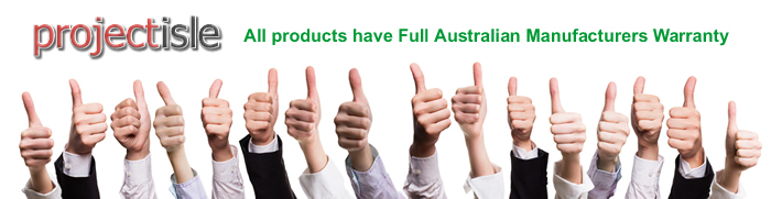 Full Australian Manufacturers Warranty
